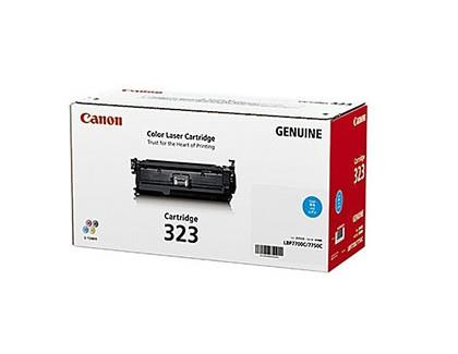 IPG. CANON TONER CARTRIDGE 323 CYAN 8,500 PAGES