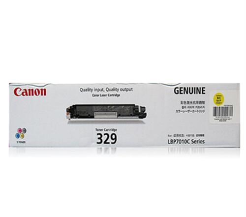 IPG. CANON TONER CARTRIDGE 329 YELLOW 1,000 PAGES