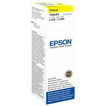 IPG. EPSON INK REFILL CARTRIDGE T6644 YELLOW 6,500 PAGES
