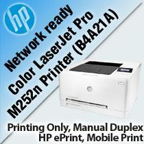 IPG. HP PRINTER LASERJET COLOR SFP PRO 200 M252N (P/N)