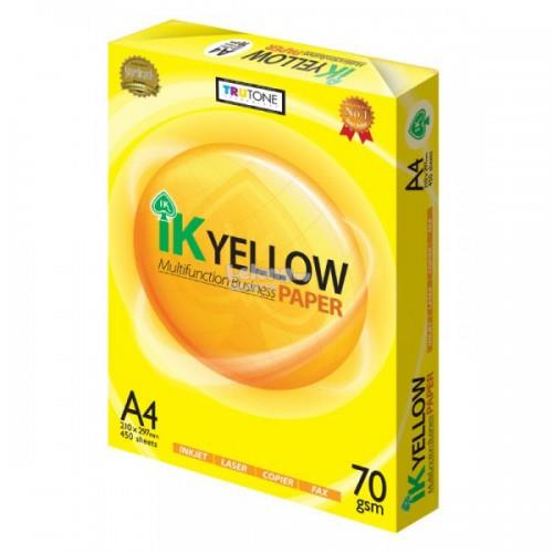 IPG. IK YELLOW A4 PAPER 70GSM 500SHEETS