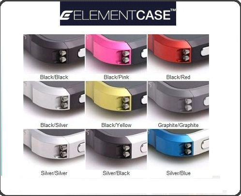iPhone 4 or 4S  ELEMENT Vapor4 Stylish Aluminum Case New In Box