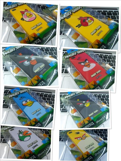 = iphone 4 angry bird housing =