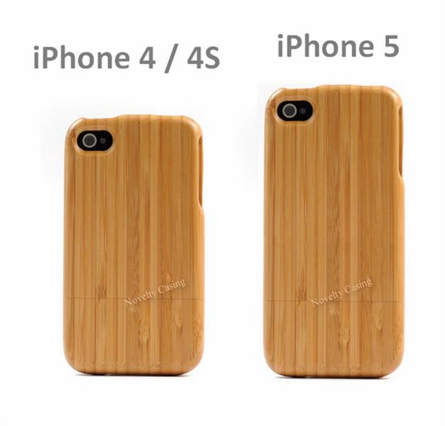 iphone 4S 4 5 Wood Case - 100% Pure Wood