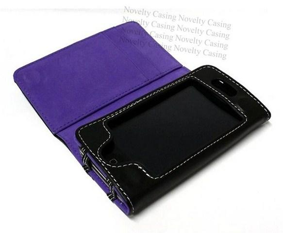 iPhone 4S / 4 Leather casing case - WALLET