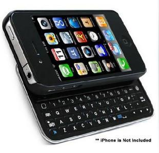 Iphone 4S Hardcase Bluetooth Wireless Keyboard slider Case Iphone 4