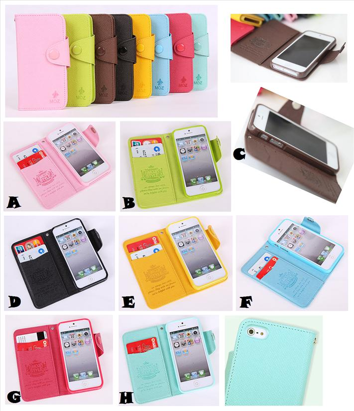 Wallet Korea Iphone 5 5s Moz Korea Wallet