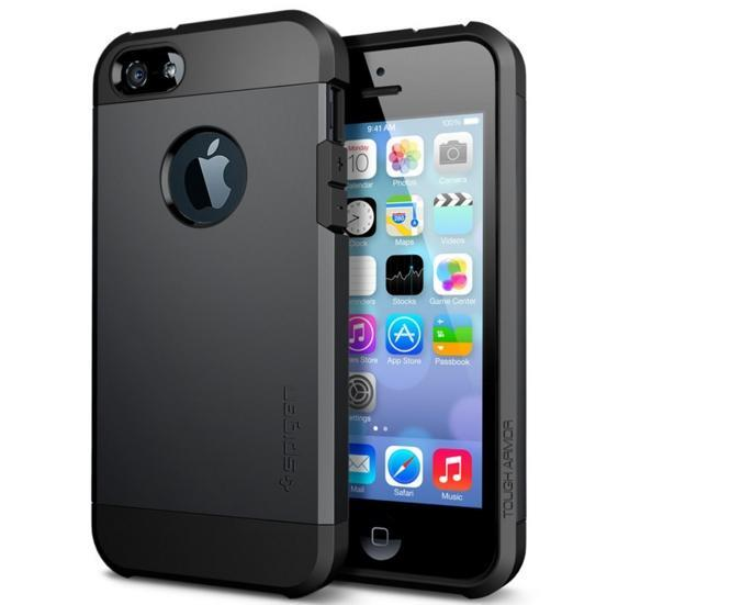 iPhone 5/5S/SE Tough Armor Dual Casing Case Cover