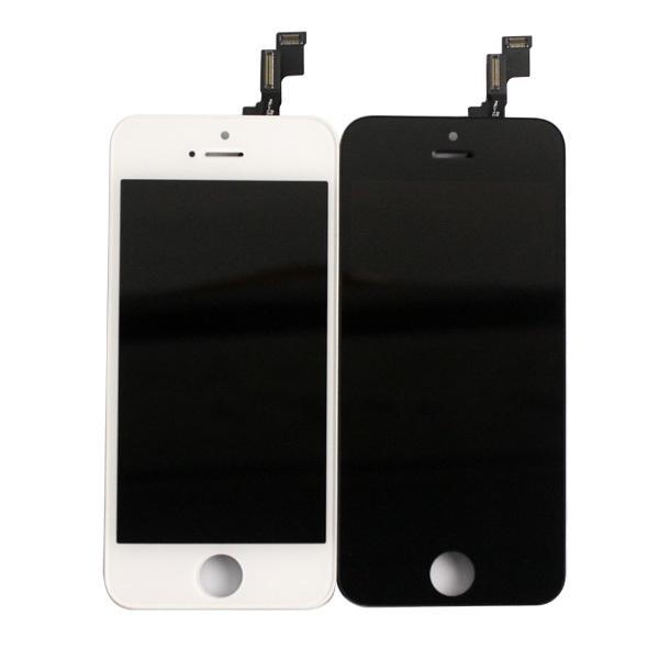 iPhone 5S Lcd Front Screen Assembly Black / White