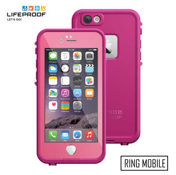 iPhone 6 4.7' Lifeproof Fre Series Waterproof Protective Case - Pink