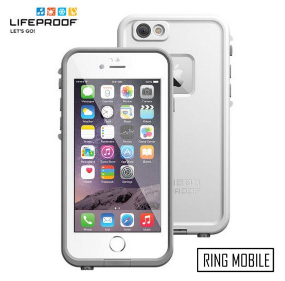 iPhone 6 4.7' Lifeproof Fre Series Waterproof Protective Case - White