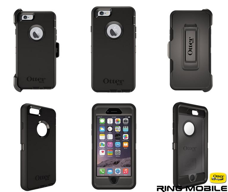 iPhone 6 4.7 OtterBox Defender Series Case - Blac
