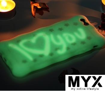 iPhone 6 4.7'' Pudding Silicone Glow Luminous Cute Casing Case Cover