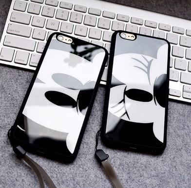iPhone 6 / 6 Plus / 5s / 4 Mickey Minnie Case Casing Cover