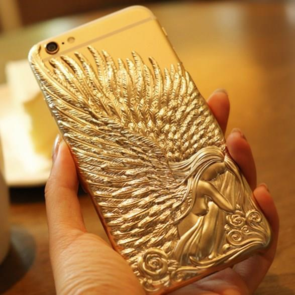 iPhone 6 / 6 Plus Angel Wings TPU Case Casing Cover