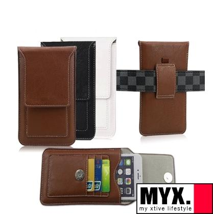 iPhone 6/ 6 Plus PU Leather Wallet Purse Belt Holder Casing Case Cover