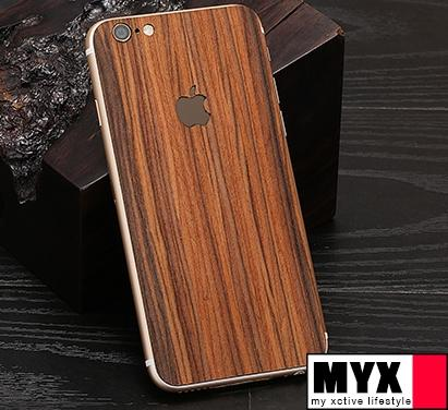 iPhone 6 / 6 Plus Real Wood Back Housing Casing Cover
