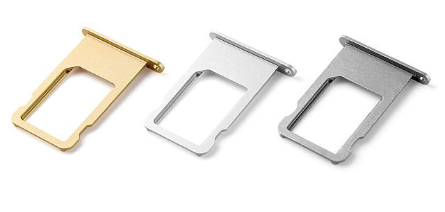 iphone 6 6g / 6+ + Plus Metal Nano Sim Tray SimCard Slot Holder