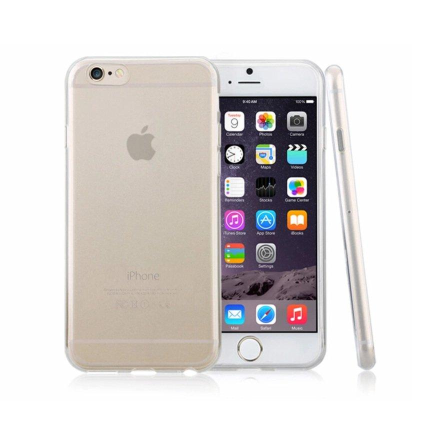 iPhone 6 6s 4.7' 0.3mm ultra thin Transparent Back Cover Case(Clear)