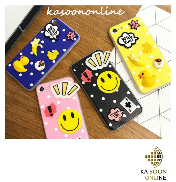 iPhone 6/6s/7 4.7'',6Plus/6sPlus/7 Plus 5.5'' 2D Cartoon Case