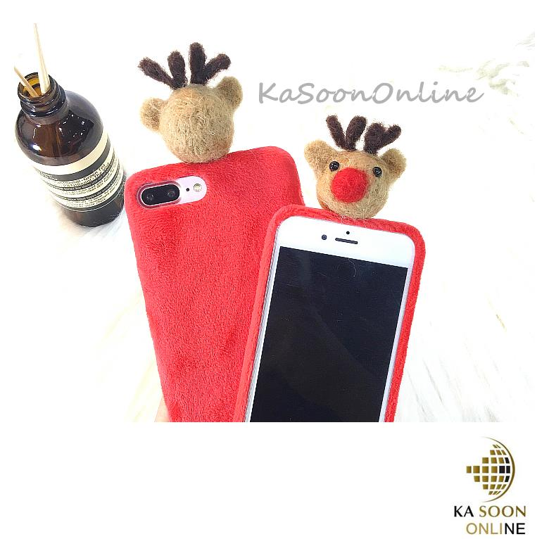 iPhone 6/6s/7 4.7'',6Plus/6sPlus/7 Plus 5.5'' 2D Deer Case