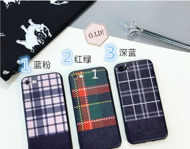 iPhone 6/6s/7 4.7'',6Plus/6sPlus/7 Plus 5.5'' England Grid Case