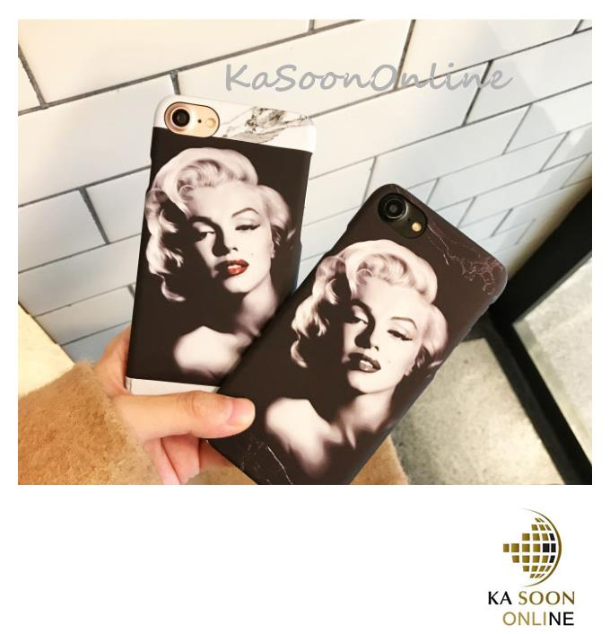 iPhone 6/6s/7 4.7'',6Plus/6sPlus/7 Plus 5.5'' Marilyn Monroe Case