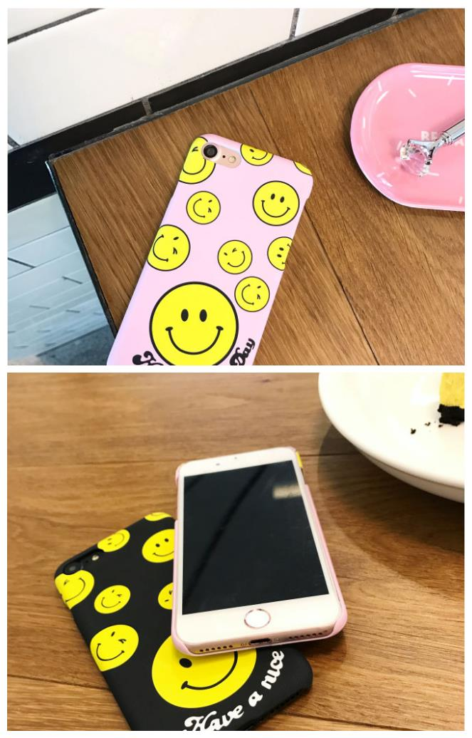 iPhone 6/6s/7 4.7'',6Plus/6sPlus/7 Plus 5.5'' Smile Face Case
