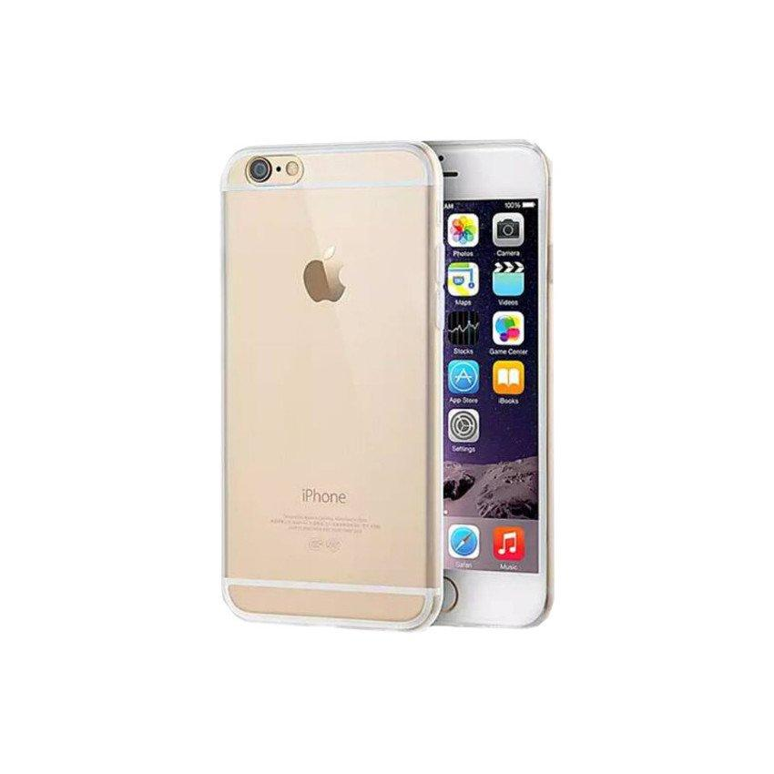 iPhone 6 6s plus 5.5' 0.3mm ultra thin Transparent Back Case(Clear)