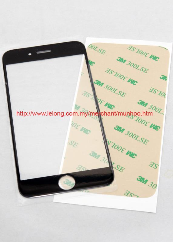 iPhone 6 Black Front Glass Broken Replacement / Repair Cover LCD