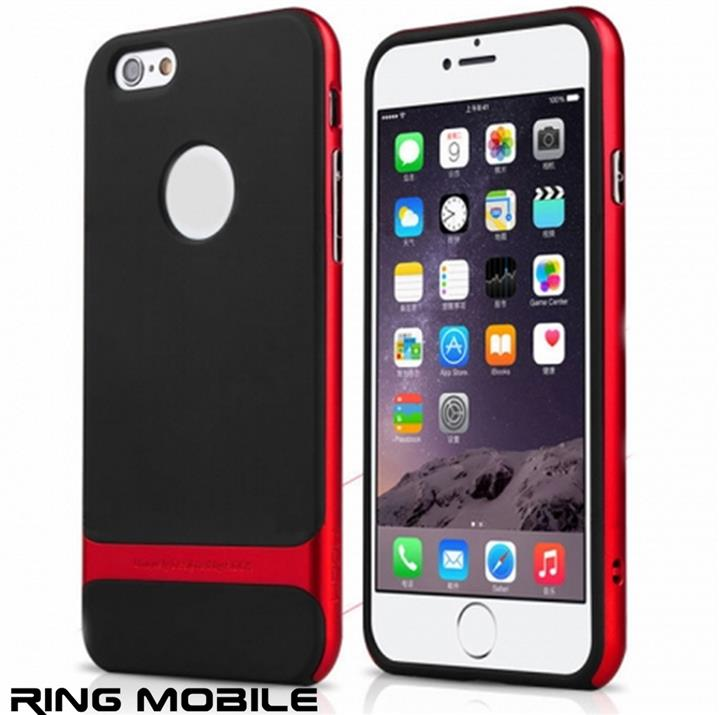 iPhone 6 Plus 5.5' Rock Royce Series Back Case / Red - rmtlee