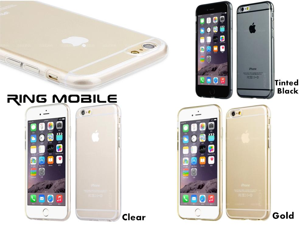 iPhone 6 Plus 5.5' Rock Ultra Thin Series TPU Transparent Back Case