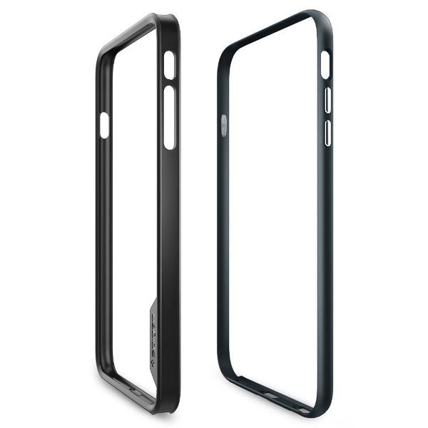 iPhone 6 Plus/6s Plus Case, Spigen Neo Hybrid EX - Metal Slate