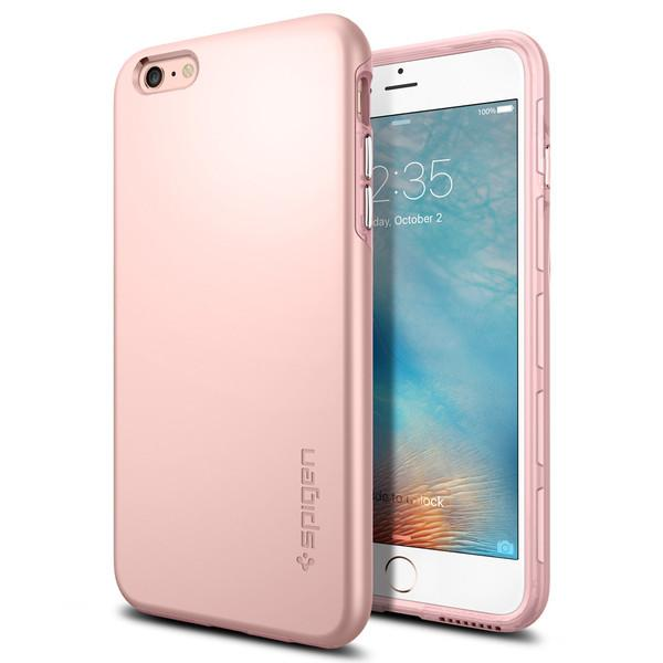 iPhone 6 Plus/6s Plus Case, Spigen Thin Fit Hybrid - Rose Gold