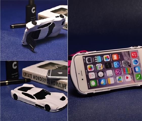 Iphone 6 Plus / 6S Plus Creative Sports Car Casing Case Cover
