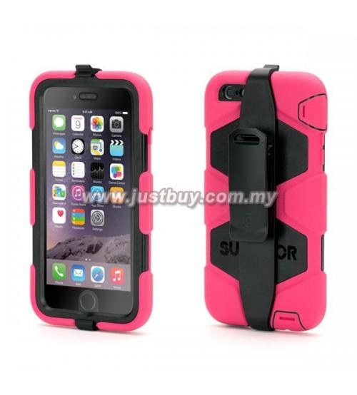 IPhone 6 Plus Griffin Survivor All-Terrain Case - Pink
