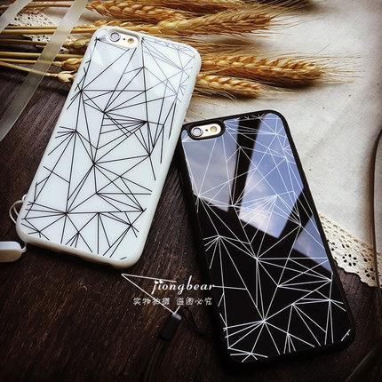 Iphone 6s and 6s PLUS line hard casing