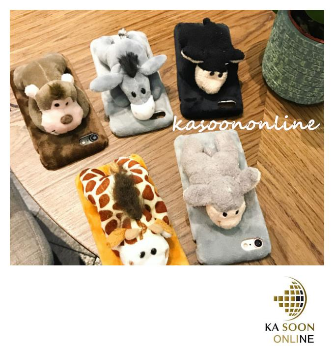 iPhone 7 4.7'',iPhone 7 Plus 5.5'' 3D Bear Animals Case