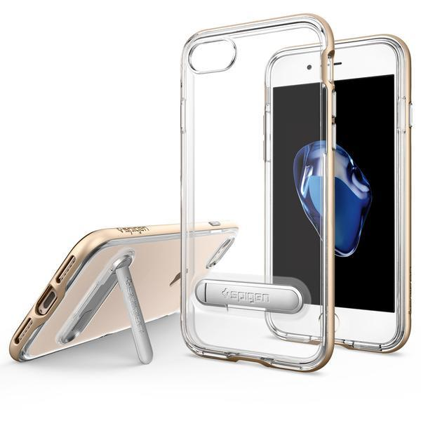 iPhone 7, Spigen Crystal Hybrid case