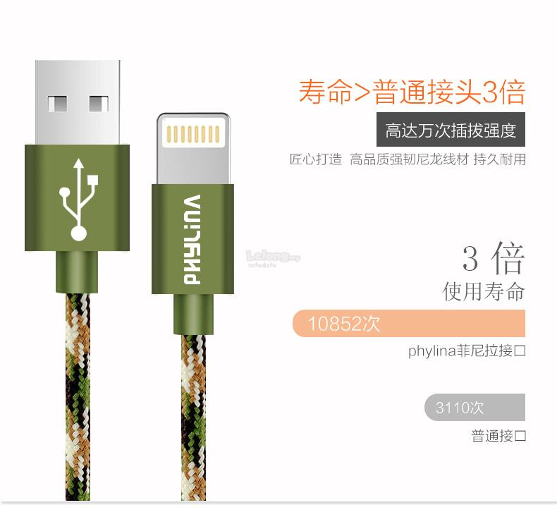 iPhone Data+charing Cable 25cm [5, 5s, 6, 6s, 6plus]