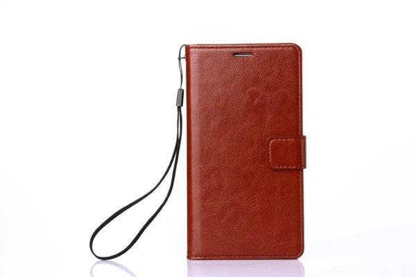Iphone genuine leather clamshell protective cover