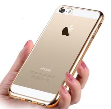 iPhone SE Silicone Casing Case Cover Rounded Edge to look like iPhone6