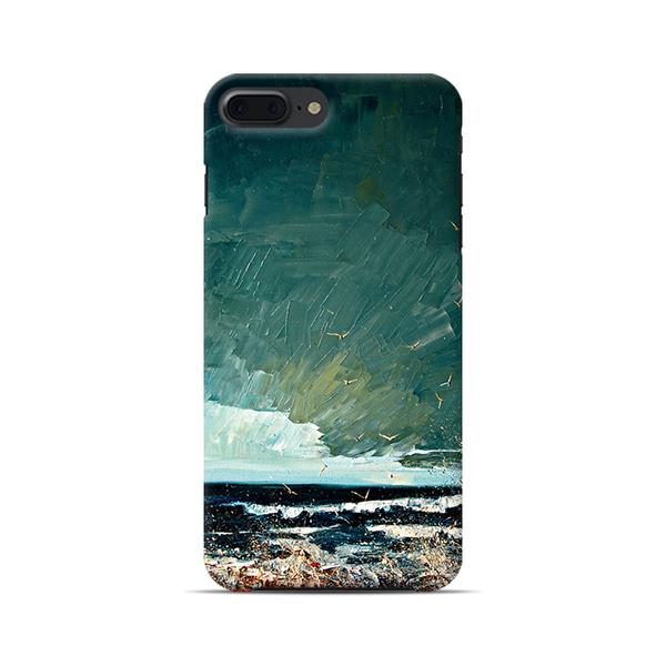 IPhone Storm sea art painting protective case