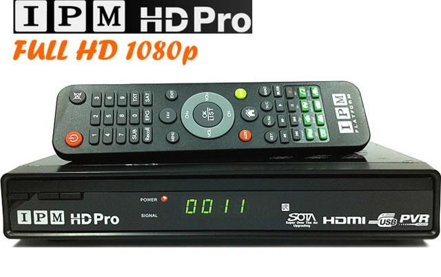 IPM Model HD PRO Digital Decoder Receiver