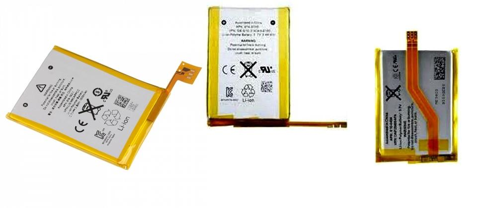 ipod Touch 1 2 3 4 5 Battery Sparepart Ipod1 Ipod2 Ipod3 Ipod4 Ipod5