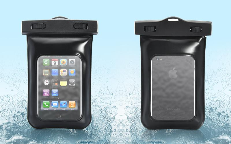 IPX8 Waterproof Bag Case with Armband Neck Strap for iPhone