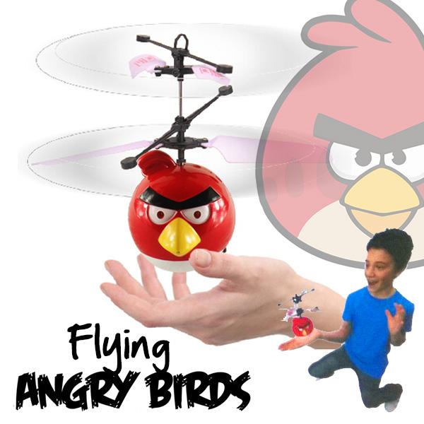 IR Sensor Angry Bird Flying Helicopter