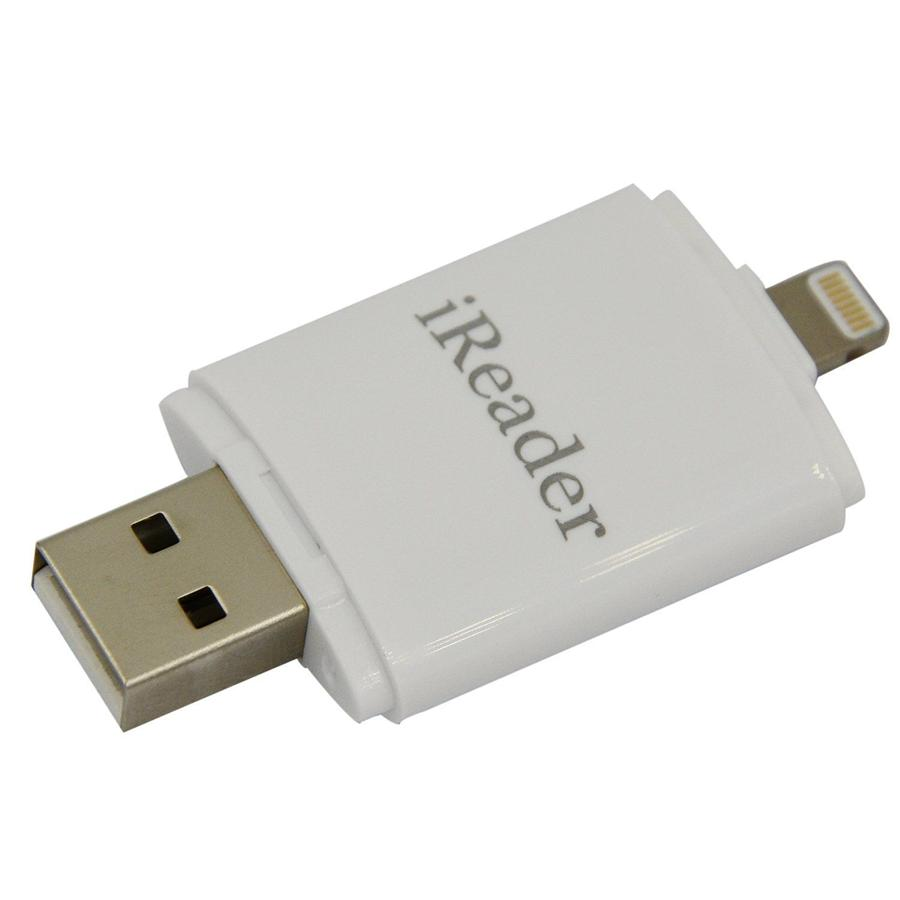 iReader i-Flash Micro SD CARD USB OTG Drive Memory Card Reader For iOS