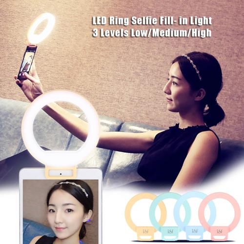 ISF Charm Eyes Smartphone Led Ring Selfie Light