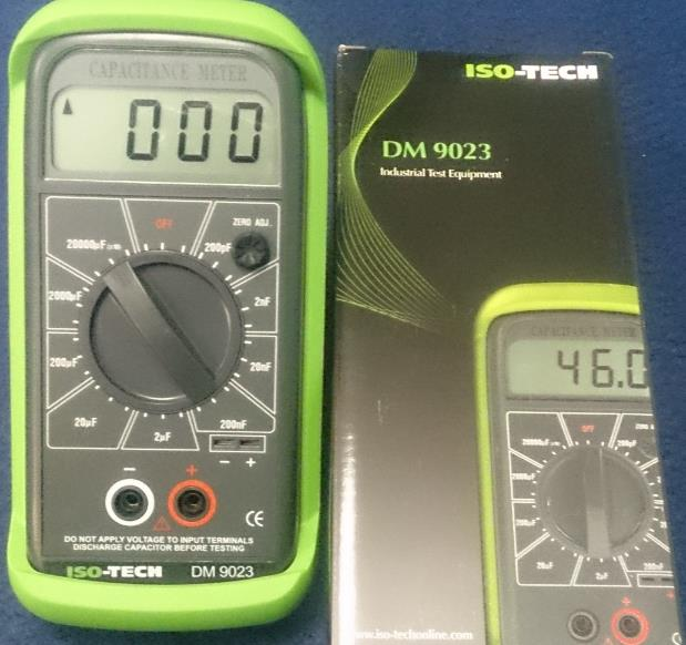 ISO-TECH DM9023 Capacitance Meter